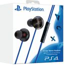 Playstation In-ear-stereokuulokkeet taustamelun vaimennuksella