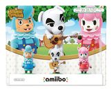 amiibo Animal Crossing 3 Pack (KK Slider + Reese + Cyrus)