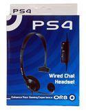 Wired Chat Headset PS4 ORB