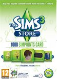 The Sims 3 store 1000 points PC