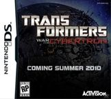 Transformers: War for Cybertron - Decepticons Nintendo DS