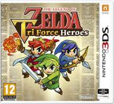 The Legend of Zelda: TriForce Heroes 3DS