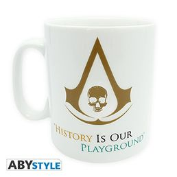 Assassins Creed IV Black Flag - History is our playground mug