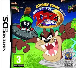 Looney Tunes Galactic Taz Ball DS
