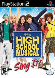 High School Musical Sing It! PS2