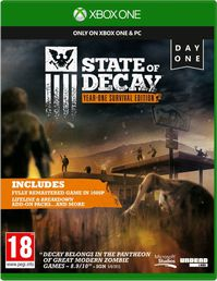 State of Decay Year One Survival Edition Xbox One