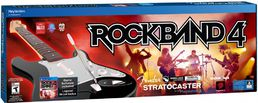 Rock Band 4 Wireless Fender Stratocaster Bundle PS4