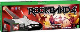 Rock Band 4 Wireless Fender Stratocaster Bundle Xbox One