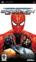 Spiderman: Web of Shadows PSP