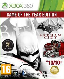 Batman: Arkham City GOTY Xbox 360