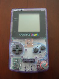Game Boy Color Crystal (käytetty)