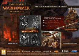 Total War: Warhammer Limited Edition PC
