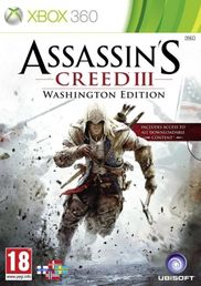 Assassins Creed III Washington Edition Xbox 360