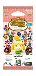 Series 4 Animal Crossing amiibo cards Pack (3 Set)