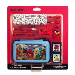 Angry Birds Gamer Case 11 in 1 3DS