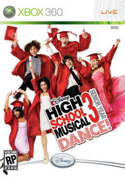 Disney High School Musical 3 Senior Year Dance Xbox 360