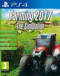 Farming 2017 The Simulation PS4