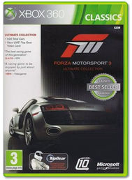 Forza Motorsport 3 Ultimate Collection Classics Xbox 360
