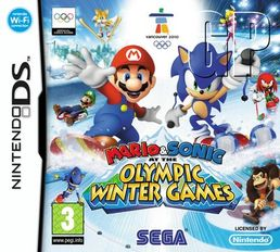Mario & Sonic at the Olympic Winter Games Nintendo DS
