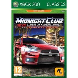 Midnight Club: Los Angeles Complete Edition Classics Xbox 360