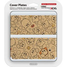 New Nintendo 3DS Cover Plate Kirby