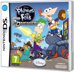 Phineas and Ferb: Across the Second Dimension Nintendo DS