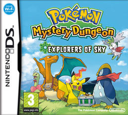 Pokemon Mystery Dungeon: Explorers of Sky Nintendo DS