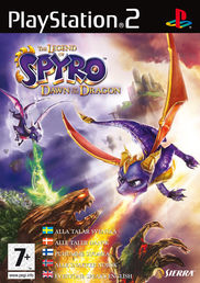 Legend of Spyro: Dawn of the Dragon PS2