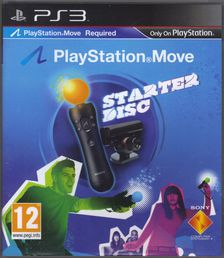 Playstation Move Starter Disc PS3 (käytetty)