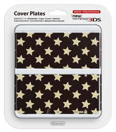 New Nintendo 3DS cover plate Stars