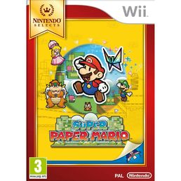Super Paper Mario Selects Wii
