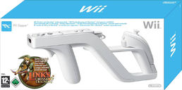 Wii Zapper + Links Crossbow Training Wii (käytetty)