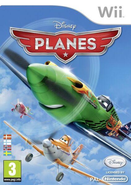 Disney Planes Wii Konsolinet