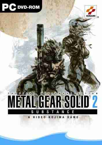Metal Gear Solid 2 Substance Full D.V.D +Savegame Pcmgs2substance