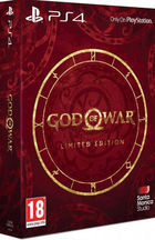 God of War Limited Edition PS4 pelin pakkaus