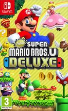 New Super Mario Bros. U Deluxe Switch kansikuva