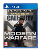 Call of Duty Modern Warfare Beta cover PS4