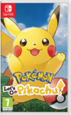 Pokemon Lets Go Pikachu Switch kansikuva