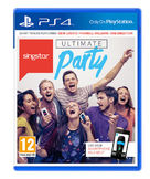 Singstar Ultimate Party PS4 kansikuva