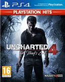 Uncharted 4: A Thiefs End PS4 Playstation Hits kansikuva