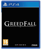 GreedFall PS4 kansikuva