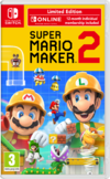 Super Mario Maker 2 Limited Edition Switch kansikuva