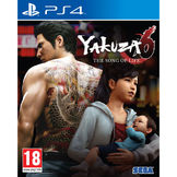 Yakuza 6: The Song of Life PS4 kansikuva