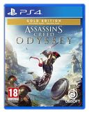 Assassins Creed Odyssey Gold Edition PS4 kansikuva