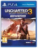 Uncharted 3 Drake's Deception PS4 kansikuva