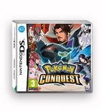 Pokemon Conquest Nintendo DS kansikuva