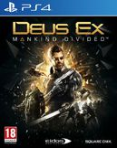 Deus Ex: Mankind Divided PS4 kansikuva