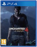 Uncharted 4: A Thiefs End PS4 kansikuva