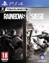 Rainbow Six Siege PS4 kansikuva