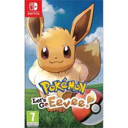 Pokemon Lets Go Eevee Switch kansikuva